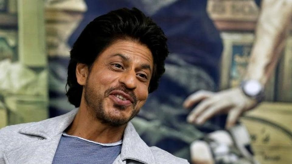 Bollywood actor Shah Rukh Khan speaks during an interview with Reuters in Mumbai.