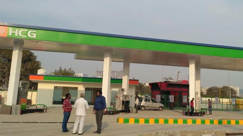 Gurgaon,CNG station,diesel car ban