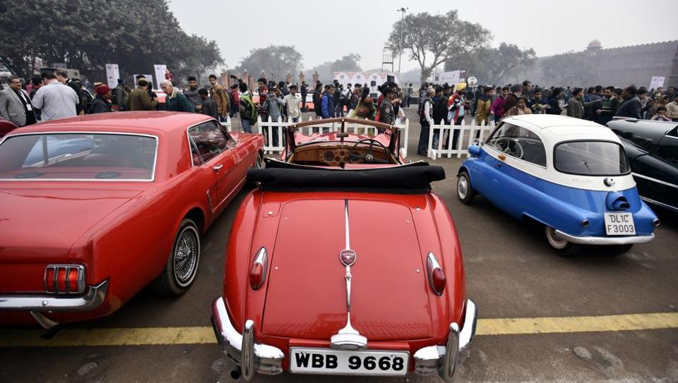 Organiser seeks green court\'s nod to hold vintage car rally in Delhi ...