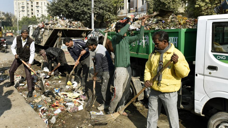 Recently, the sanitation workers of east and north Delhi civic bodies had gone on strike over non-payment of salaries.