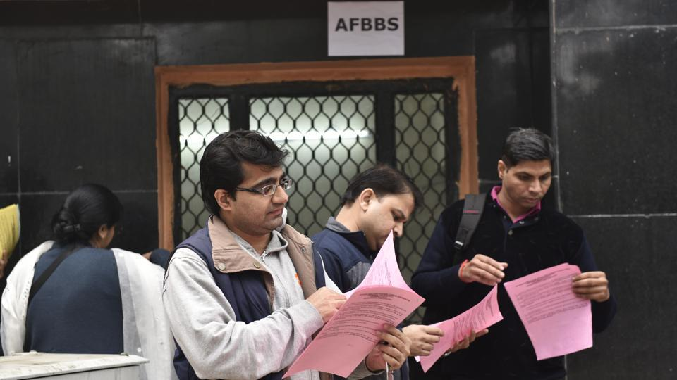 Admissions to nursery and UKG classes commenced at schools on January 3.