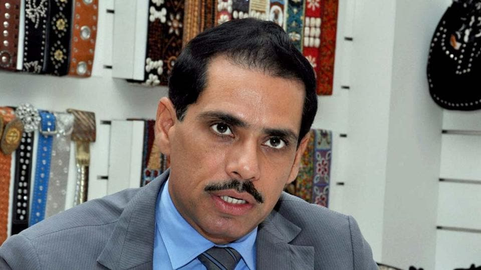 File photo of Robert Vadra, the son-in-law of Congress president Sonia Gandhi.