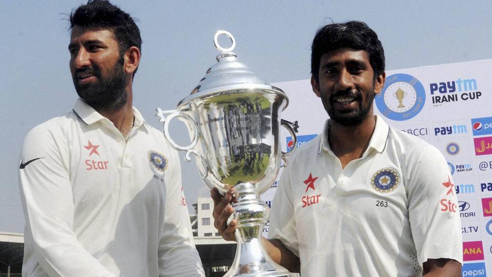 Cheteshwar Pujara's unbeaten 116 was put to shade by Wriddhiman Saha's 203 in the Irani Cup final but there is no doubt it helped him get good match practice ahead of the Test series against Australia in February.