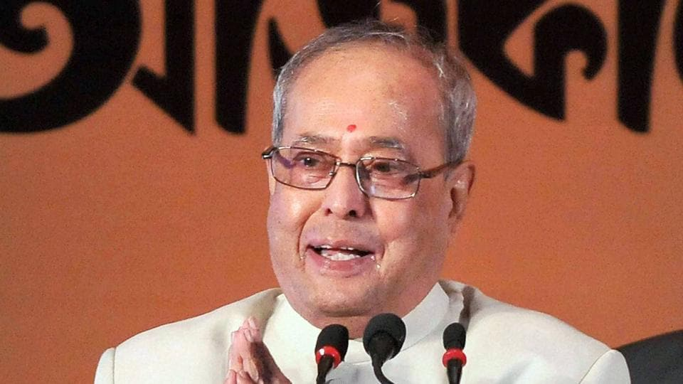 President Pranab Mukherjee addressed the nation on the eve of Republic Day on Wednesday.
