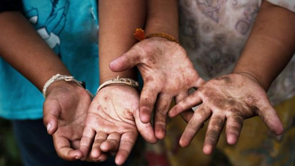 A district-wise map depicting problems facing children across the country was released by the ministry of women and child development.(Representative image)