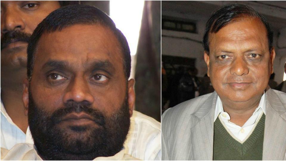 Swami Prasad Maurya and RK Chaudhary