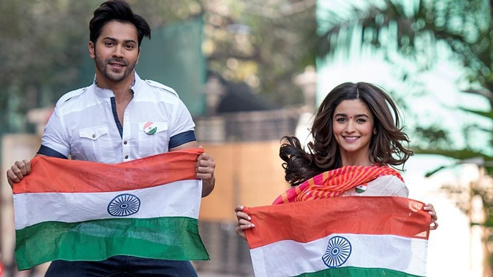 As India celebrates its 68th Republic Day in all its glory, HT catches up with two young heartthrobs of Bollywood – Alia Bhatt and Varun Dhawan – for an exclusive shoot and a quick chat.  (Satish Bate/HT PHOTO)