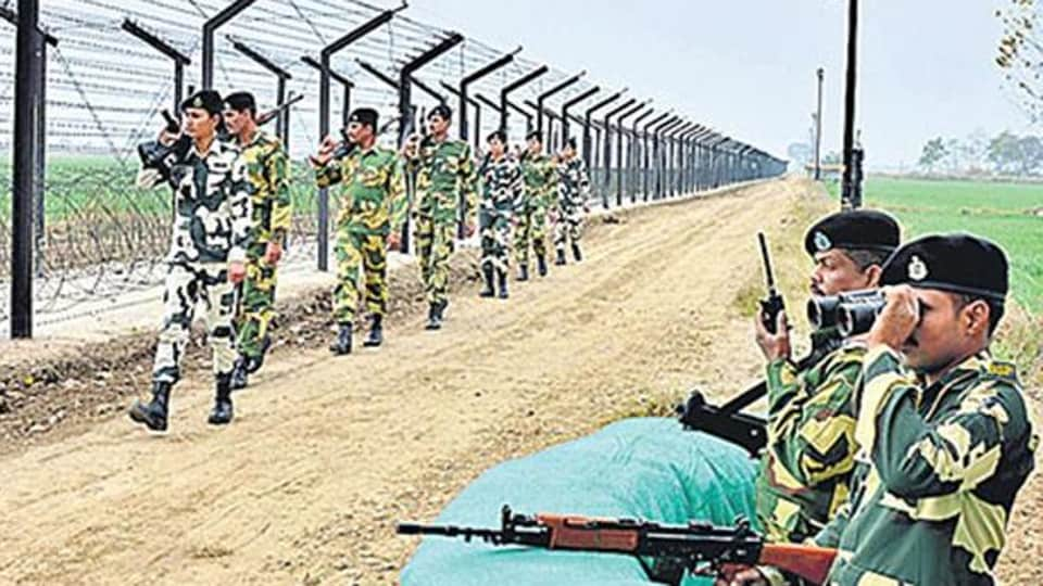 This year, about 8.9 kg heroin has been recovered by the force from the border area, official said.