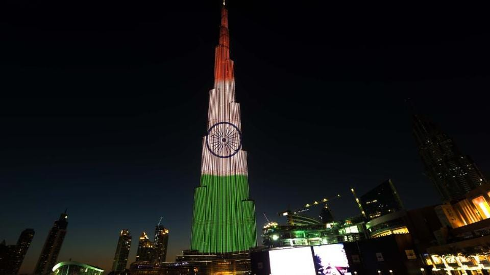 Republic Day,Burj Khalifa,Dubai