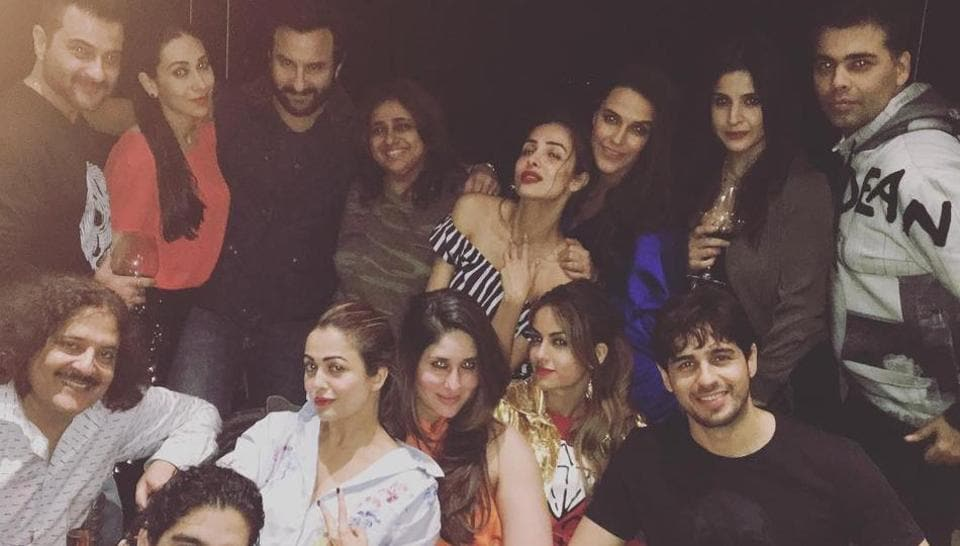 Karan Johar Threw A Party On Tuesday Which Was Attended By Star Kareena Kapoor Khan