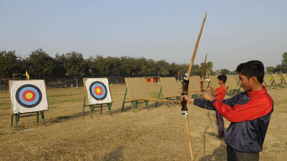 The new archery range to be inaugurated on Republic Day.