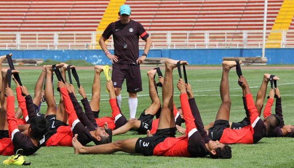 Nicolai Adam,India U-17 football team,U-17 World Cup 2017
