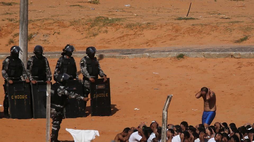 Brazil prison break,Brazil,Semi open prisons in Brazil
