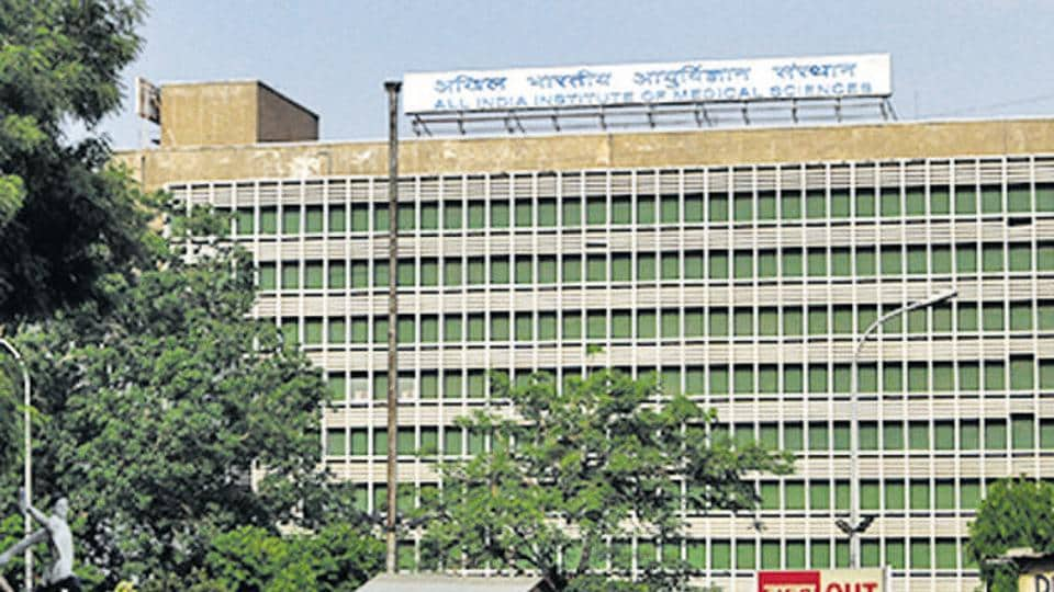 File photo of AIIMS building in New Delhi.