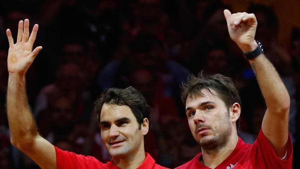 Roger Federer and Stan Wawrinka have been an integral part of Switzerland's Davis Cup team and will face each other in Australian Open semi-finals.