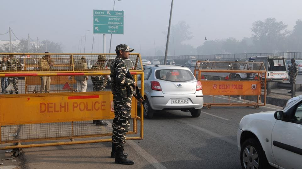 Security has been tightened in the city ahead of the Republic Day.