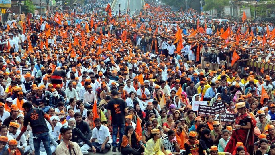 Maratha protests,Maratha protestors' rivalry,Maharashtra politics