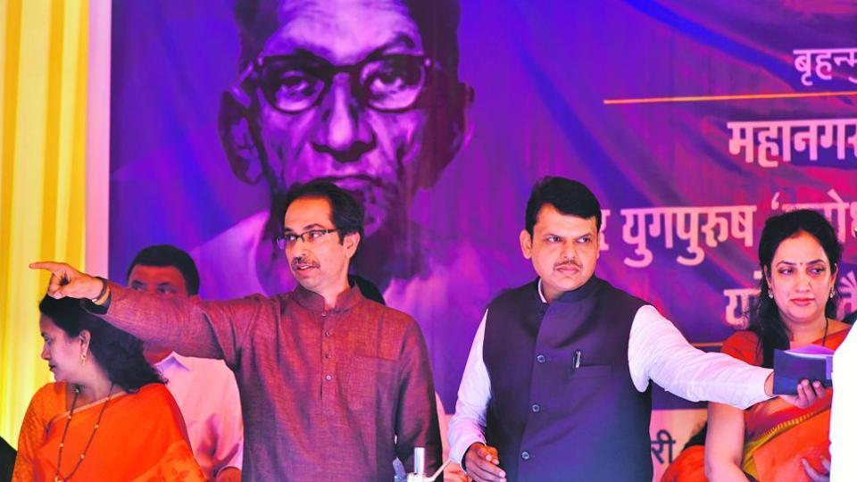 Shiv sena ditches BJP, to go solo in BMC polls