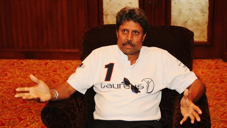 Kapil Dev, a Laureus Academy Member, is Indian cricket team's first World Cup winning captain.