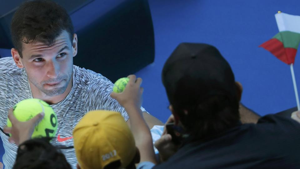 Grigor Dimitrov,David Goffin,Australian Open
