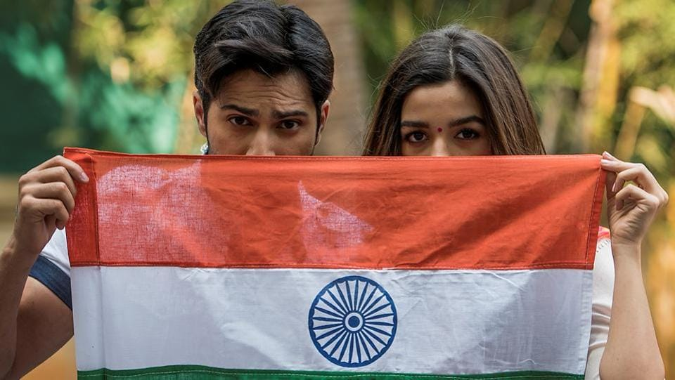 Varun Dhawan feels Republic Day brings national pride to every Indian's heart while Alia Bhatt says that the day signifies patriotism and pride. (Satish Bate/HT PHOTO)