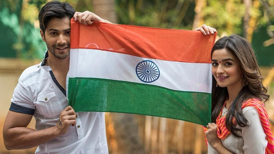 Varun Dhawan says India is one of the largest and most successful democracies in the world, and being a citizen means a lot. Also, Alia Bhatt says Republic Day should be a reminder of not just our freedom or rights, but also our responsibilities. (Satish Bate/HT PHOTO)