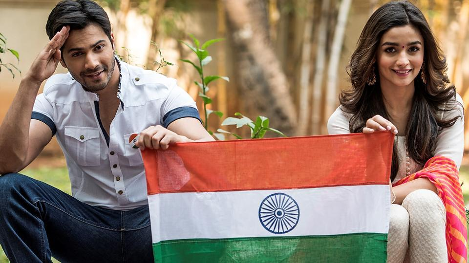 Alia Bhatt feels diversity in India is the best thing about the country. Varun Dhawan adds that Indians have always been big-hearted and that shouldn't be looked at as our weakness. (Satish Bate/HT PHOTO)