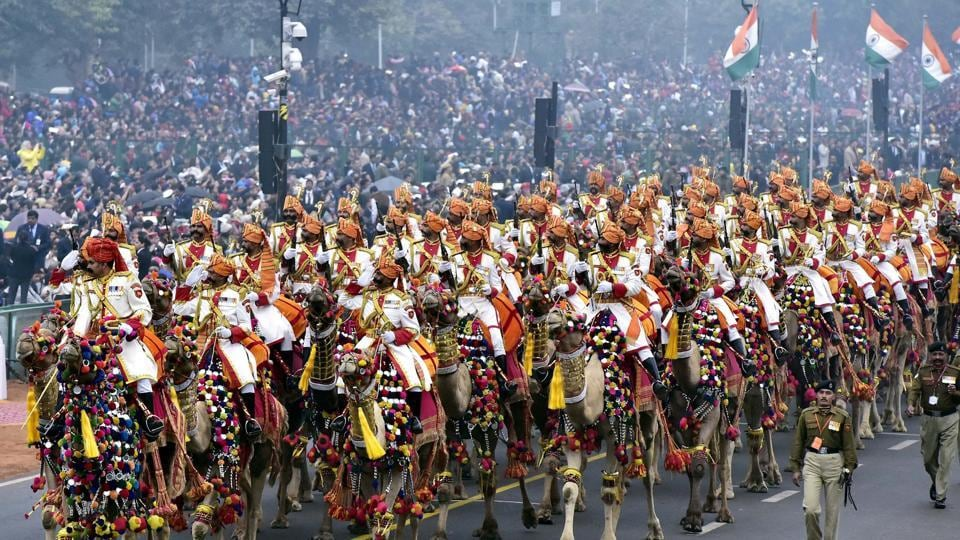 Republic Day parade,Republic Day,Tableaux