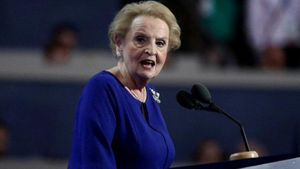 Madeleine Albright,Muslims in US,Muslim registration
