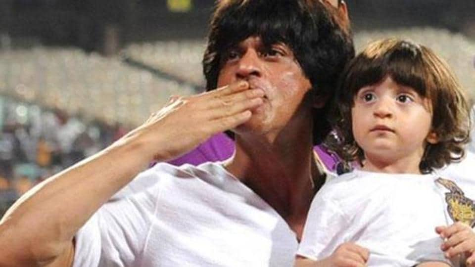 Shah Rukh Khan's small son, Abram, is a favourite of shutterbugs.