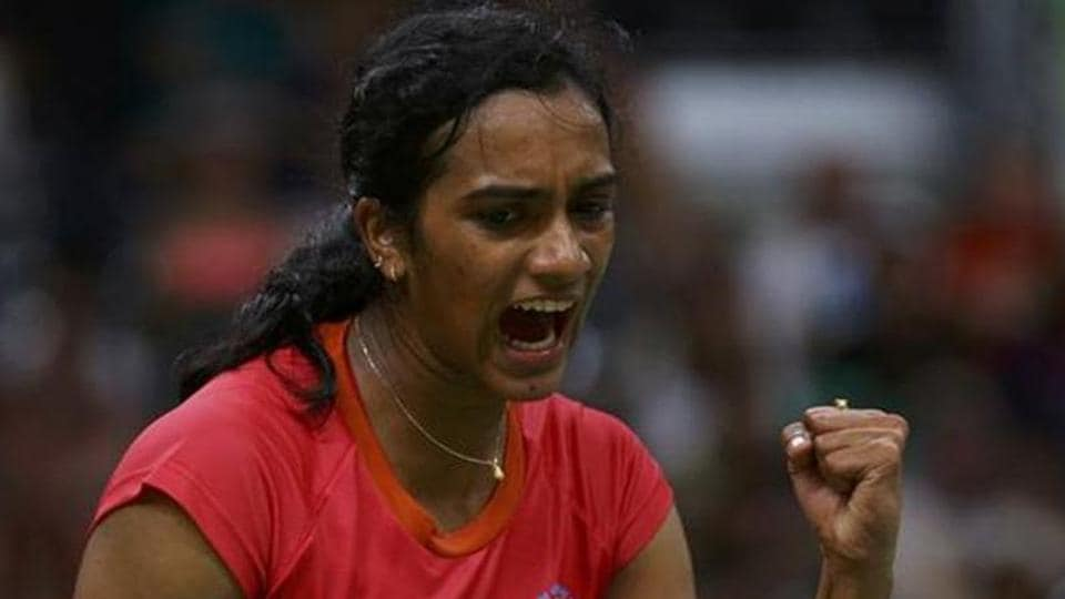 PVSindhu entered the quarterfinals of the Syed Modi Grand Prix Gold championship with a thumping win over Lalita Dahiya.
