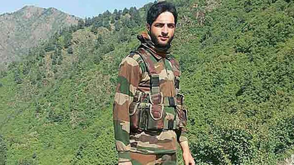 Burhan Wani, a regional commander of the Hizb-ul-Mujahideen, was killed in an operation by security forces in July, 2016. (Photo courtsey: Social Media)