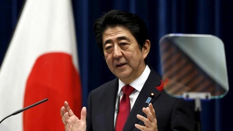 Shinzo Abe said on Thursday it was possible Tokyo and Washington could hold bilateral free trade talks in the wake of US President Donald Trump's withdrawal from TPP/