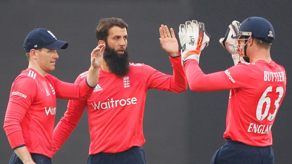 Moeen Ali made the difference with his match figures of 4-0-21-2 and his wickets included Kohli and Manish Pandey. (BCCI)