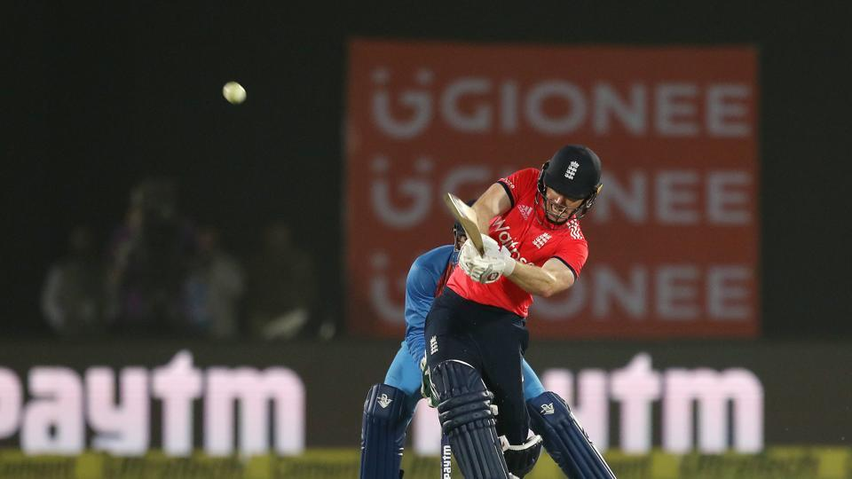 Eoin Morgan held firm and attacked the Indian bowling as England mounted a fightback. (BCCI)