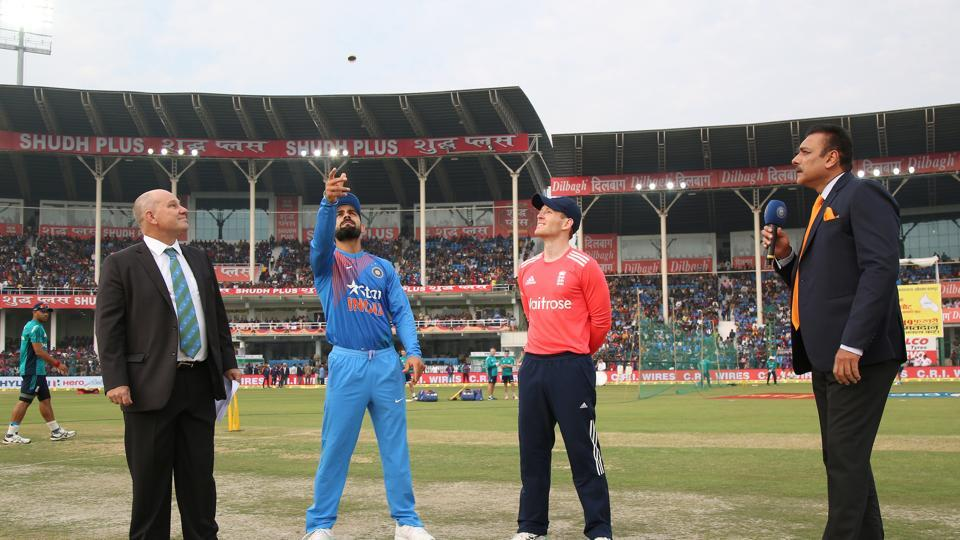 Kanpur was hosting its first-ever Twenty20 International and Virat Kohli captained the India side for the first time in this format. England won the toss and chose to field. (BCCI)