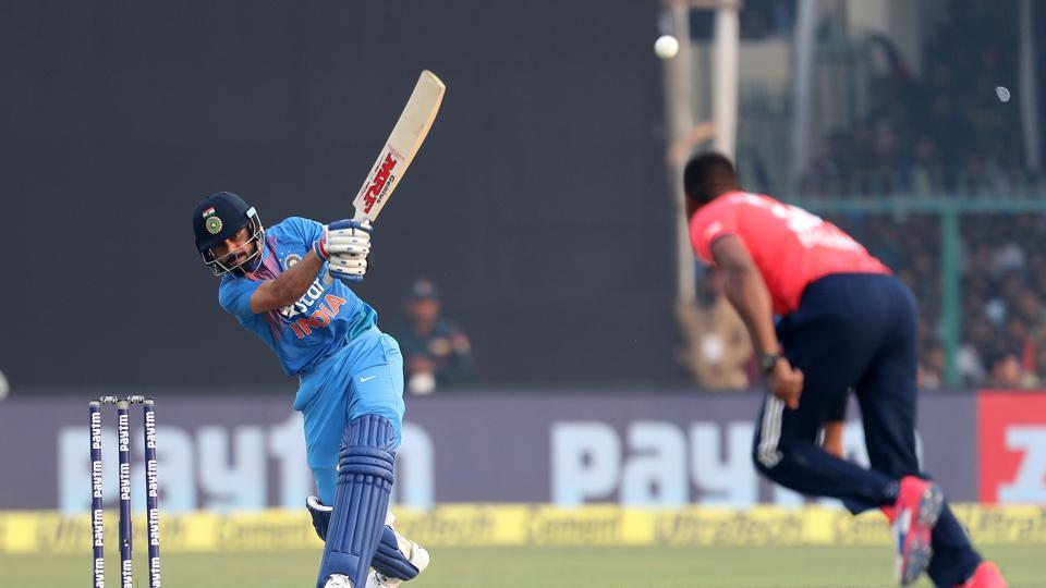 Kohli raced to 29 as India looked at piling on a big score in Green Park. (BCCI)