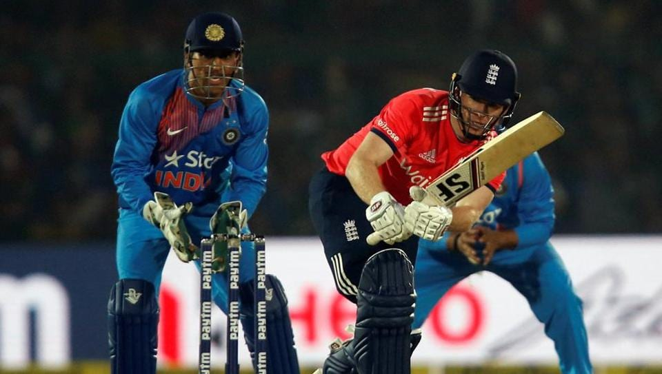 Eoin Morgan (51) was England's top-scorer in the 1st T20I win over India in Kanpur. Get cricket score of India vs England 1st T20I here.