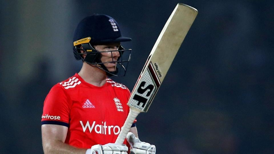 England captain Eoin Morgan hit an unbeaten fifty in their seven-wicket win over India in the first T20I in Kanpur on Thursday.