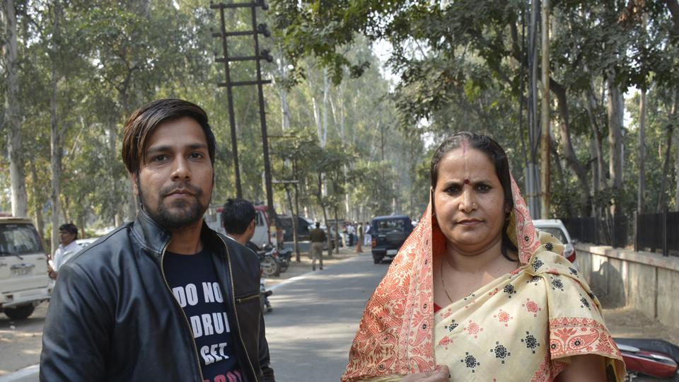 Teams will pay special attention to Loni segment where seven candidates have cleared the scrutiny process, including Madan Bhaiya and his wife Geeta Devi (right).