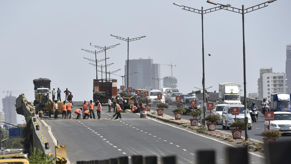 The Public Works Department (PWD) will carry out the repairs on the north-bound stretch of the flyover for the replacement of expansion joints.