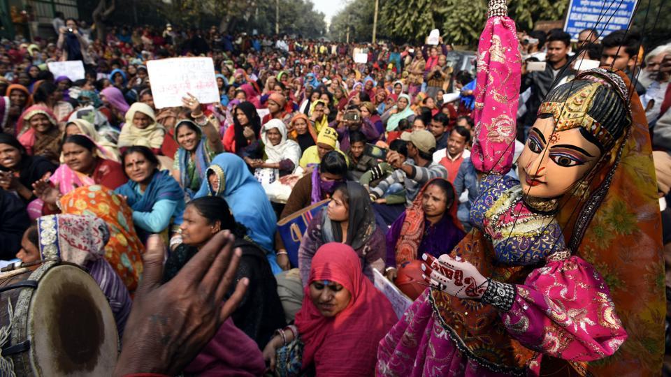 Kathputli Colony,Delhi Development Authority,folk song