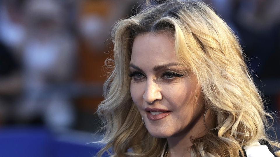 (File) Banning all Madonna songs at HITS 105 is not a matter of politics, it's a matter of patriotism, the station's manager said.
