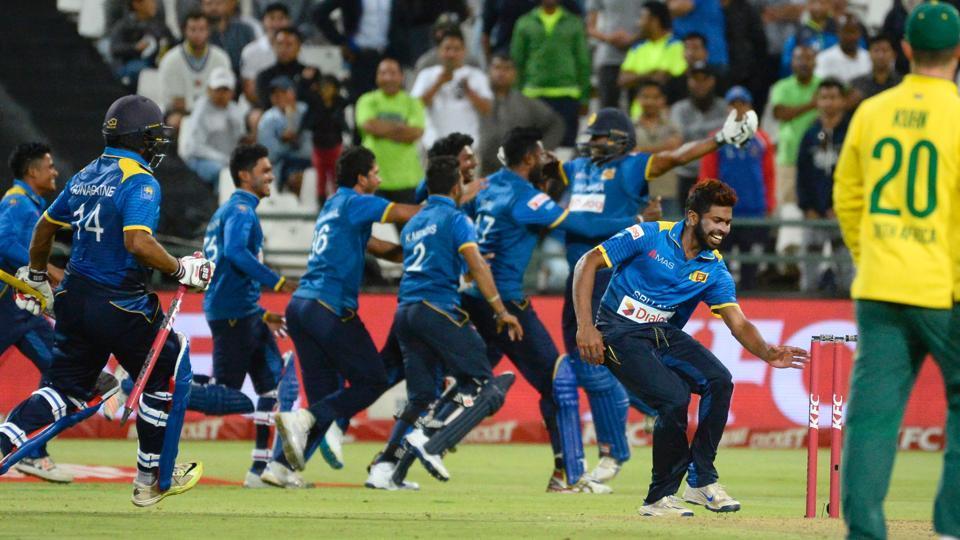 Pleasant Sri Lanka Claim T20 Series Vs South Africa In Ab De Villiers Short Hairstyles Gunalazisus