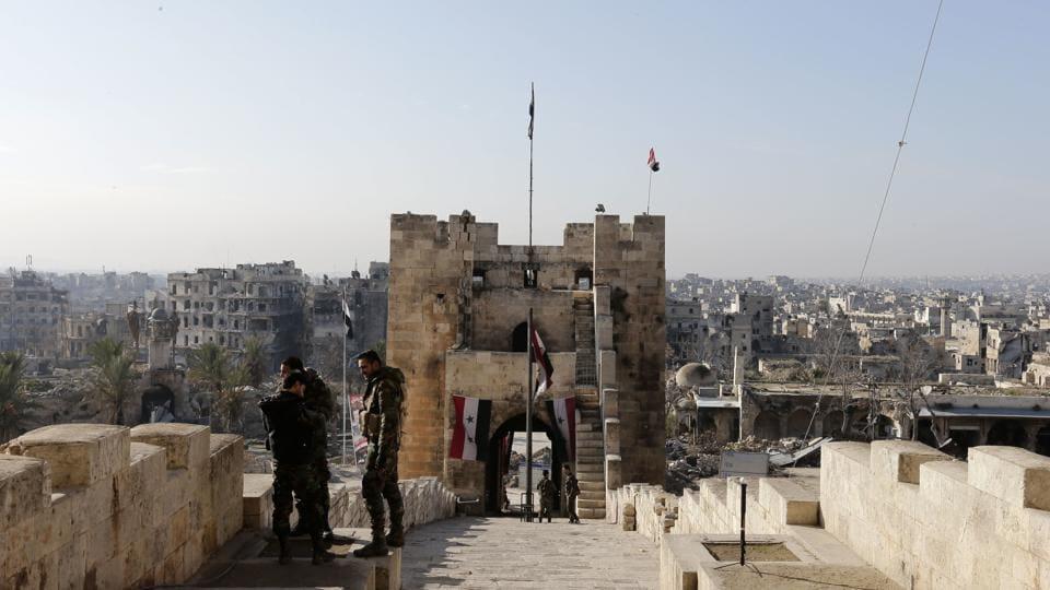Syria war,East Aleppo recapture,Syrian rebels