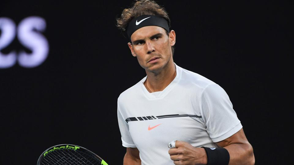 Rafael Nadal will face Grigor Dimitrov in the semifinal of the Australian Open on Friday.