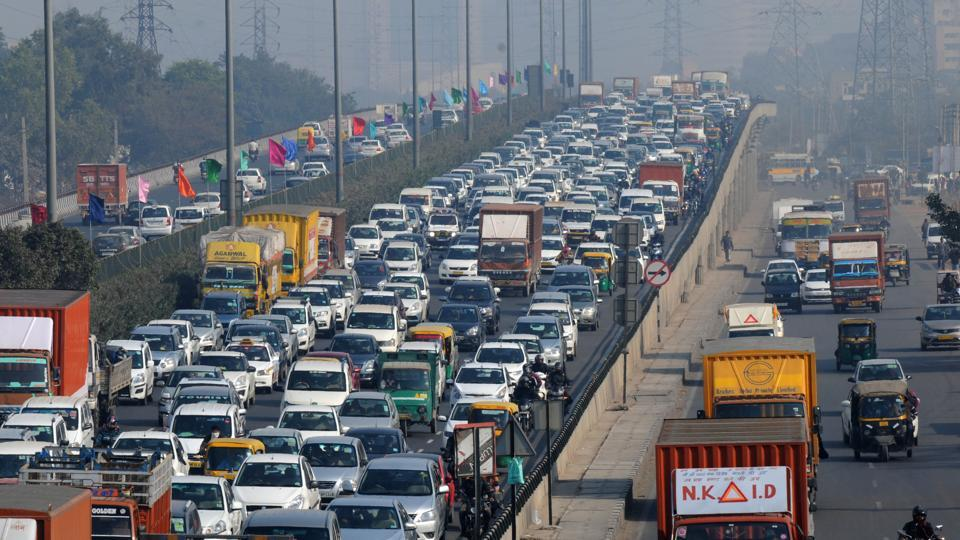 Over 50,000 private cabs ply in Gurgaon.