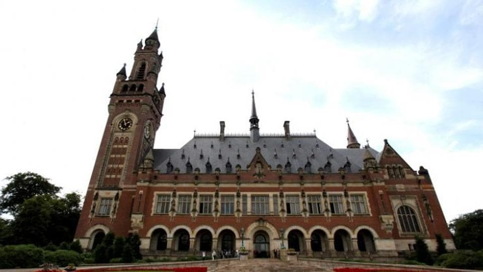 The Peace Palace in The Hague, which houses the International Court of Justice.