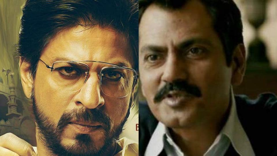 A typical Bollywood potboiler is supposed to ride on smart one-liners of the hero. And it is surprising that Nawazuddin Siddiqui's dialogues are more entertaining than Shah Rukh Khan's in Raees.