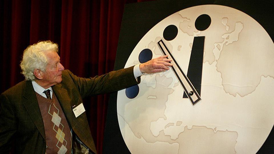 Doomsday Clock,US President,Donald Trump